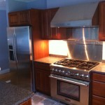 Thermador range and hood